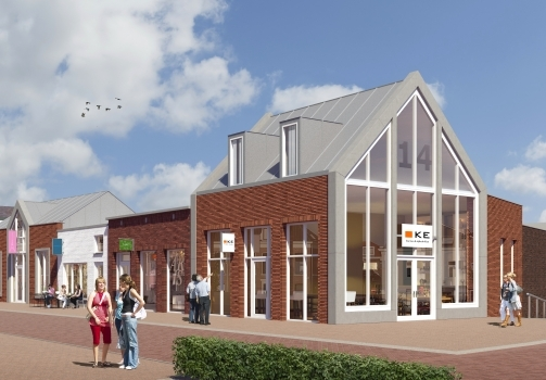 Schoenenwinkel en financieel adviesbureau vestigen zich in nieuw centrumplan Keizersdijk Raamsdonksveer