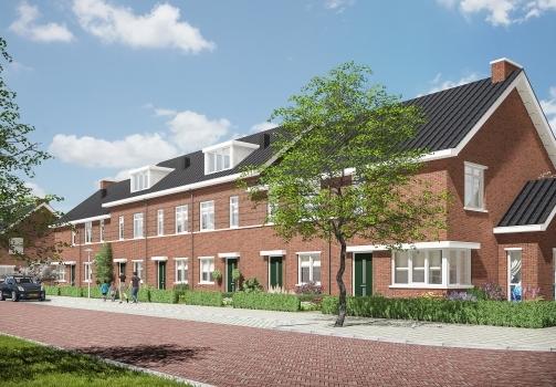 Dura Vermeer Bouw West en KIKX Development realiseren 63 grondgebonden woningen in Rotterdam-Schiebroek