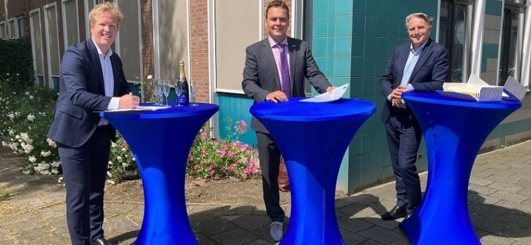 KIKX en Dura Vermeer zetten Bisonspoor 332 om in moderne appartementen